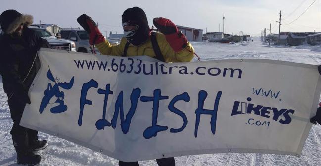 Gewinner des 6633 Ultra Marathon 2016, Tibi Useriu