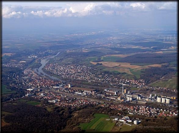 Ochsenfurt von oben